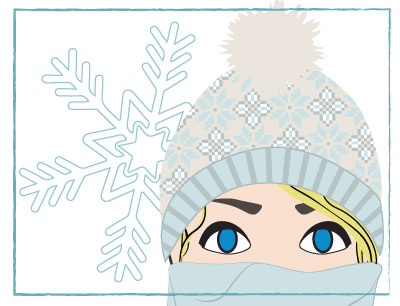Protect your skin from the cold with soothing winter treatments!